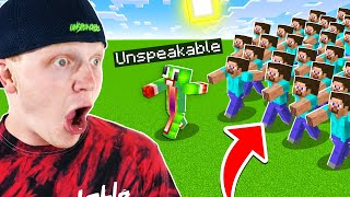 I Played ULTIMATE Minecraft TAG With 100 PEOPLE!