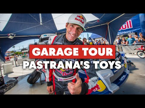 Travis Pastrana Has The Coolest Toys - Epic Garage Tour with