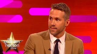 Ryan Reynolds Does An Amazing 'Trailer Guy' Voice – The Graham Norton Show