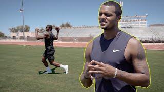 QB Drills w/ Deshaun Watson to Improve Footwork & Throwing!