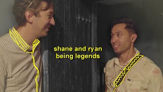 shane and ryan being ghost hunting legends for 6 minutes straight