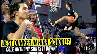 Cole Anthony Is The BEST Dunker In High School!! DEMOLISHES City of Palms Dunk Contest!!
