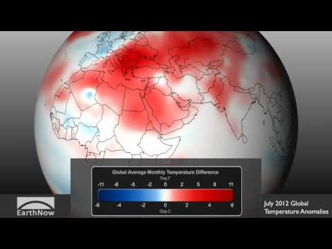 July 2012 4th Warmest on Record