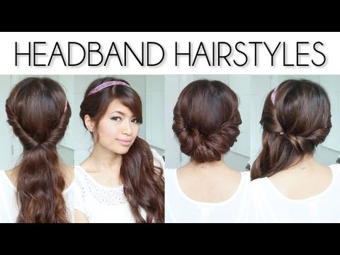 ♥ Easy Everyday Headband Hairstyles For Short And Long Hair Tutorial - Smashpipe Style