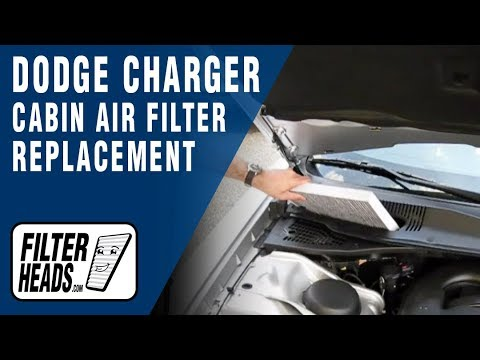 cabin air filter replacement dodge charger youtube. Black Bedroom Furniture Sets. Home Design Ideas