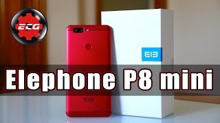 Video Elephone P8 Mini 64 GB Rojo RtQY8qhdMts