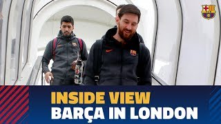[BEHIND THE SCENES] A day in London (Chelsea - Barça)
