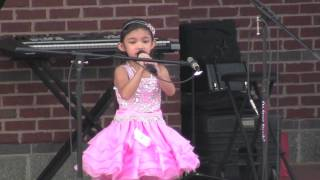 Talented 5 Year Old Wins Singing Competition - Reflection / Part of Your World - Angelica Hale