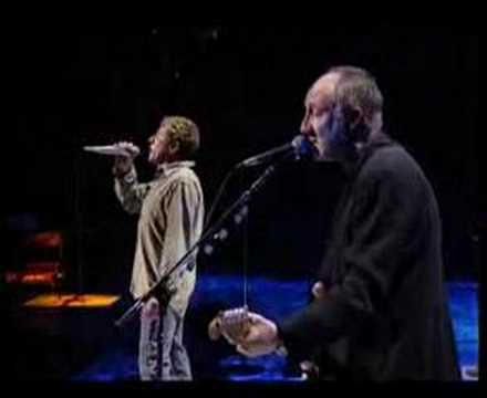 The Who-Behind Blue Eyes@Concert For New York City 3/4