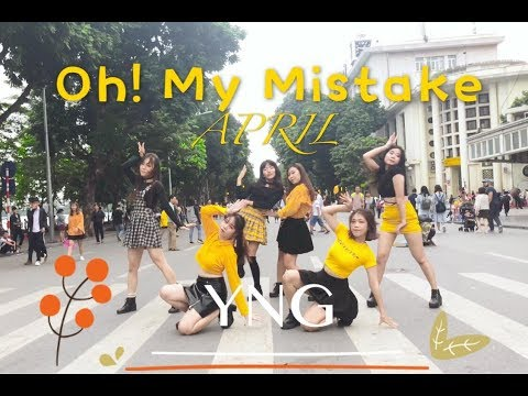 [1ST PRIZE] Kpop in public APRIL(에이프릴) Oh! my mistake(예쁜 게 죄) Dance Cover By YNG 🇻🇳
