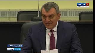 Сергей Меняйло потребовал у губернатора Александра Буркова разобраться со строительством Красногорского гидроузла