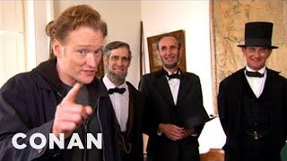 Conan Visits Abraham Lincoln Presidential Museum - CONAN on TBS