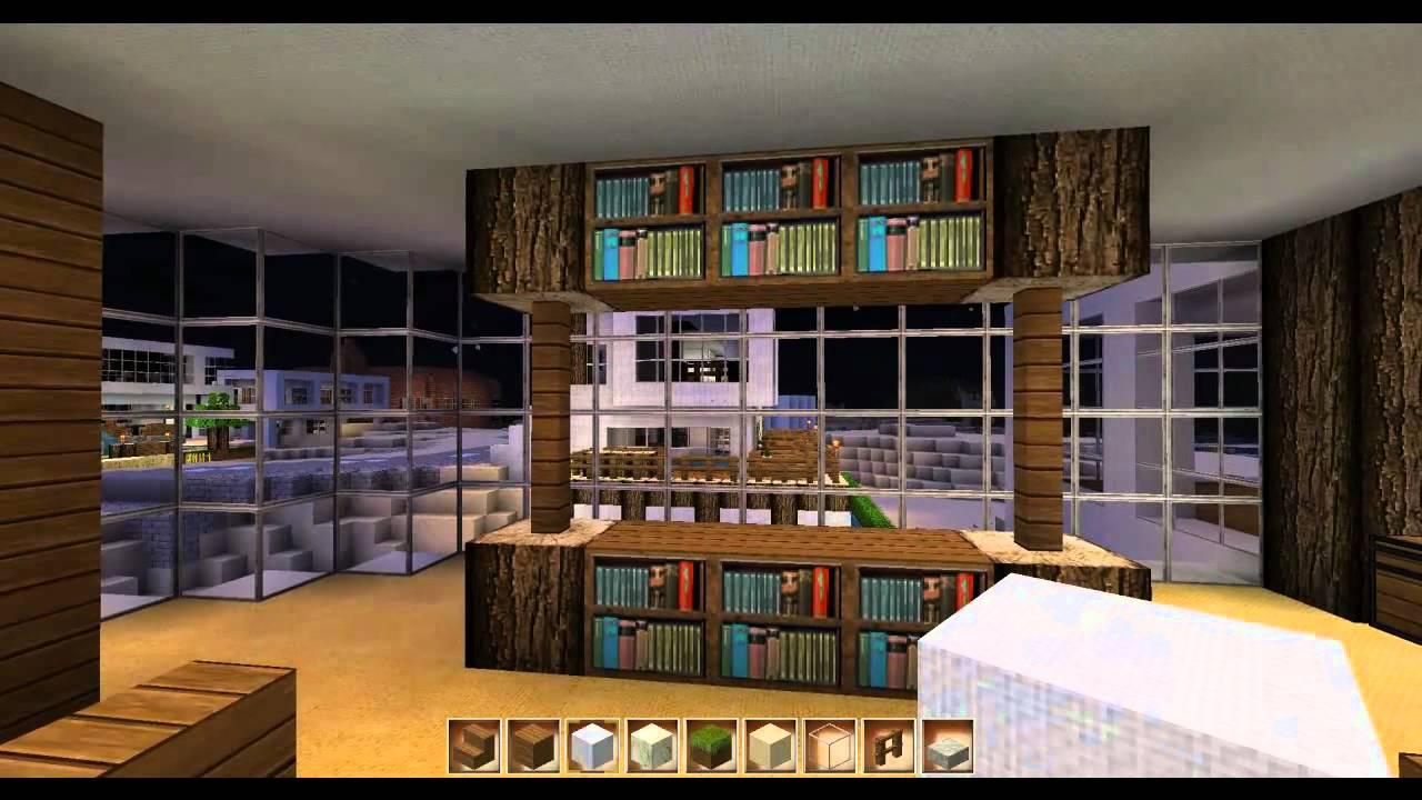 minecraft inneneinrichtung haus 6 youtube. Black Bedroom Furniture Sets. Home Design Ideas