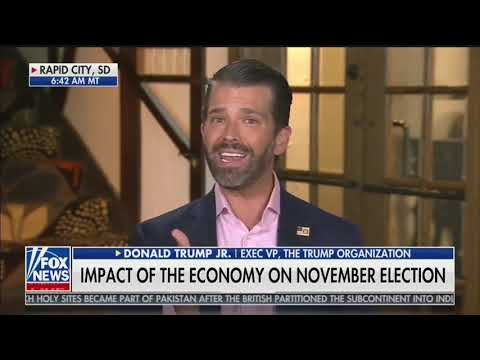 """Donald Trump Jr: """"If Joe Biden could do any of those things, why didn't he tell Obama?"""""""