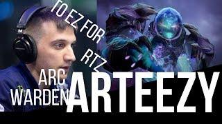 Arteezy Arc Warden - Dota 2 Gameplay -   EG vs VG  Dota 2 Kuala Lumpur Major - BROKEN HERO