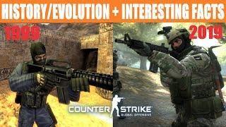 History/Evolution of Counter-Strike (1999-2019)
