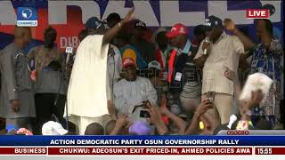 Action Democratic Party Osun Governorship Rally Pt 2