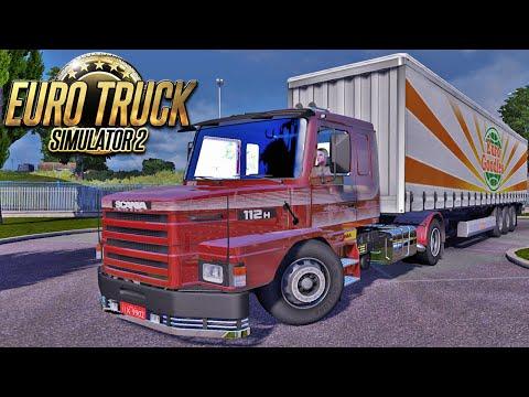 Viagem de Scania 112H - Euro Truck Simulator 2