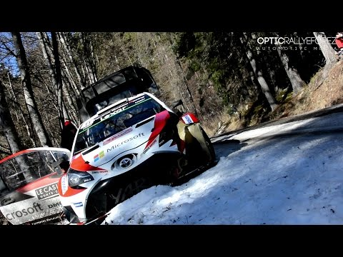 WRC Monte Carlo 2017 Movie Crash & Show