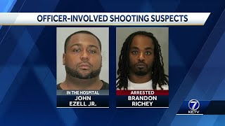OPD: Officers fired 7 times, suspect fired at least twice after traffic stop near 30th, Laurel