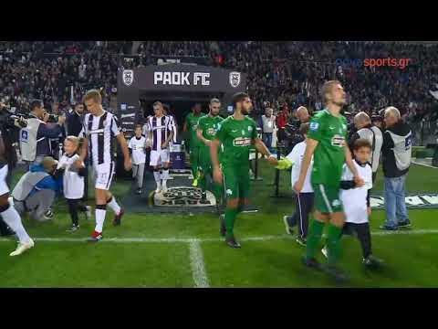 ΠΑΟΚ - Παναθηναϊκός 2-0 (21/10/2018)