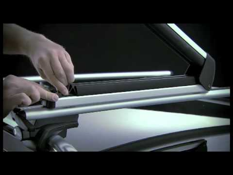 THULE WingBar 963 - Pair of Car Roof Bars