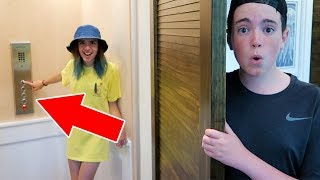 WE FOUND A SECRET ELEVATOR IN OUR NEW HOUSE!!