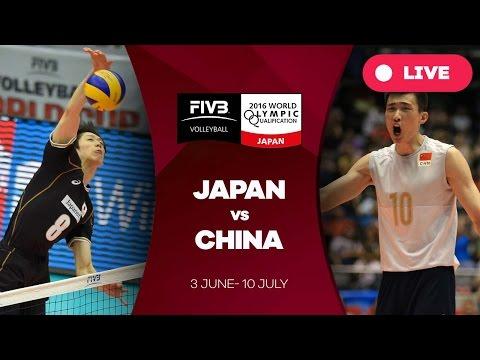 Japan v China - 2016 Men's World Olympic Qualification Tournament