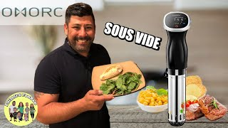 SOUS VIDE COOKING  | THE MOST AMAZING CHICKEN BREAST | NEW OMORC SOUS VIDE COOKER || COOK WITH ME