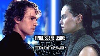 The Rise Of Skywalker Final Scene Shocking News Revealed! (Star Wars Episode 9)