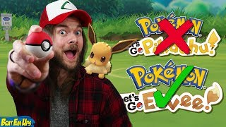 What ACTUALLY IS Pokémon Let's Go Pikachu & Eevee?