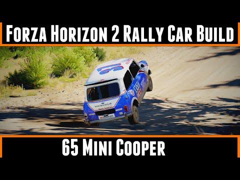 Forza Horizon 2 Rally Car Build 65 Mini Cooper (Storm Island)