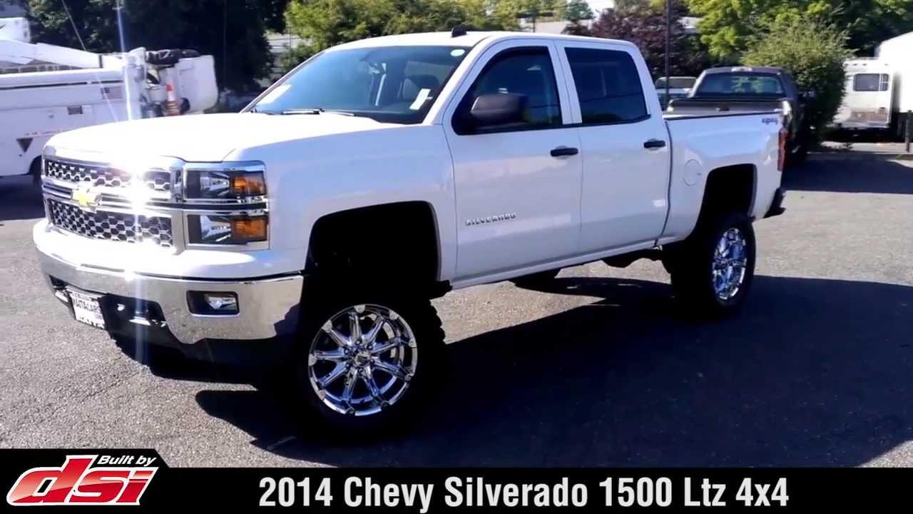 silverado chevy lifted trucks 4x4 1500 ltz truck dsi