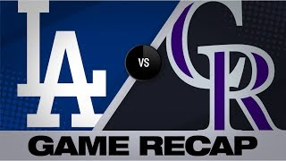 6-run 6th propels Dodgers to a 10-5 victory | Dodgers-Rockies Game Highlights 6/30/19