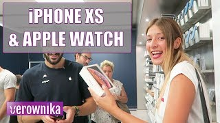 Reaccionando a IPHONE XS Y APPLE WATCH SERIES 4   UNBOXING VLOG