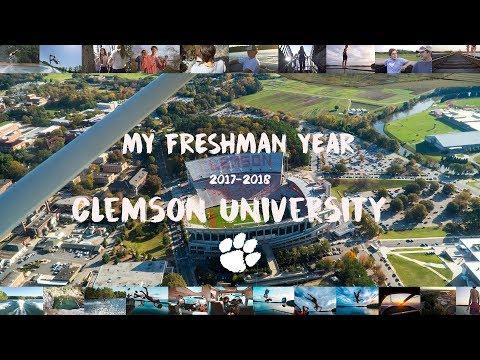 My Freshman Year // Clemson University