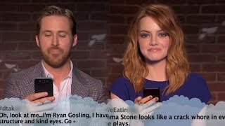 Jimmy Kimmel Brings Mean Tweets To The Oscars With Ryan Gosling & Emma Stone