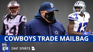 Dallas Cowboys Trade Rumors On Michael Gallup, Stephon Gilmore + Sign Jadeveon Clowney? | Mailbag
