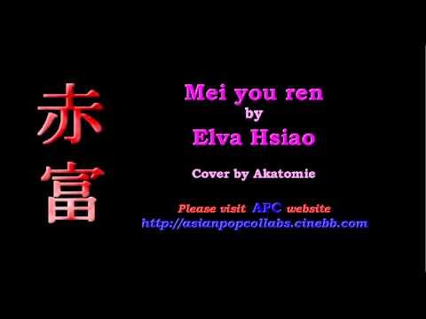 [LTSEnt instru.] 没有人 Mei you ren - 萧亚轩 Elva Hsiao cover by Akatomie