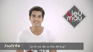 Siêu Mẫu Việt Nam 2015: Phỏng vấn thí sinh Trịnh Xuân Nhãn
