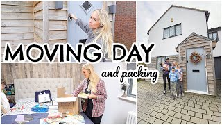 MOVING DAY & PACK WITH ME  |  FIRST LOOK AT OUR NEW HOME  | Emily Norris