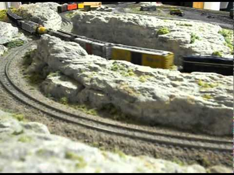 3 X 5 Ft N Scale Train Layout Youtube