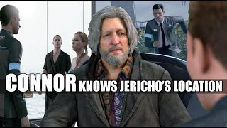 DBH - Connor Tells Hank That He Is Going To Use The Key That Kamski Gave Him To Find Jericho