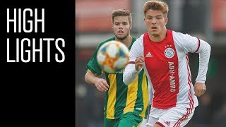 Highlights Ajax O19 - ADO Den Haag O19