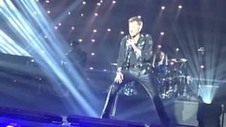 Johnny Hallyday - Le pénitencier - Bruxelles - Palais 12 - 26/03/2016