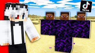 TIKTOK-uri VIRALE cu Minecraft! Pe Bune Sau FAKE?