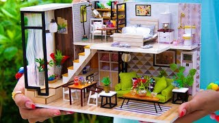 5 DIY Miniature Doll House Rooms #2