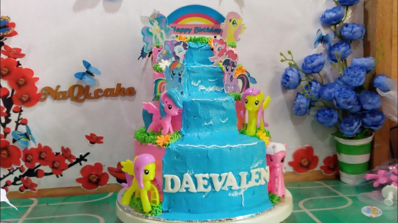 Dekorasi Kue Ultah Anak Anak Kue Ulang Tahun Kuda Poni Cake Tart Video Sportnk