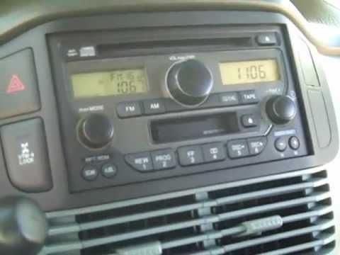 Honda Pilot Car Stereo Removal And Repair 2003 2005 Youtube
