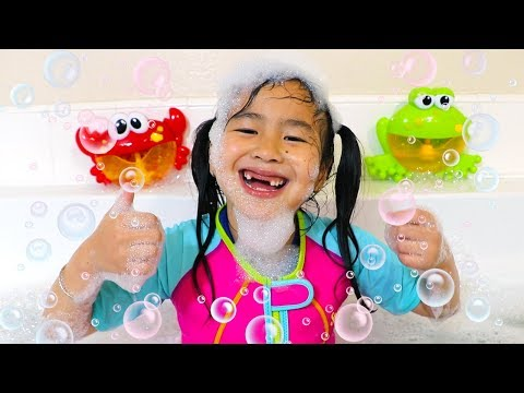 Bath Song | Jannie Pretend Play Nursery Rhymes & Kids Songs - Toys and Colors